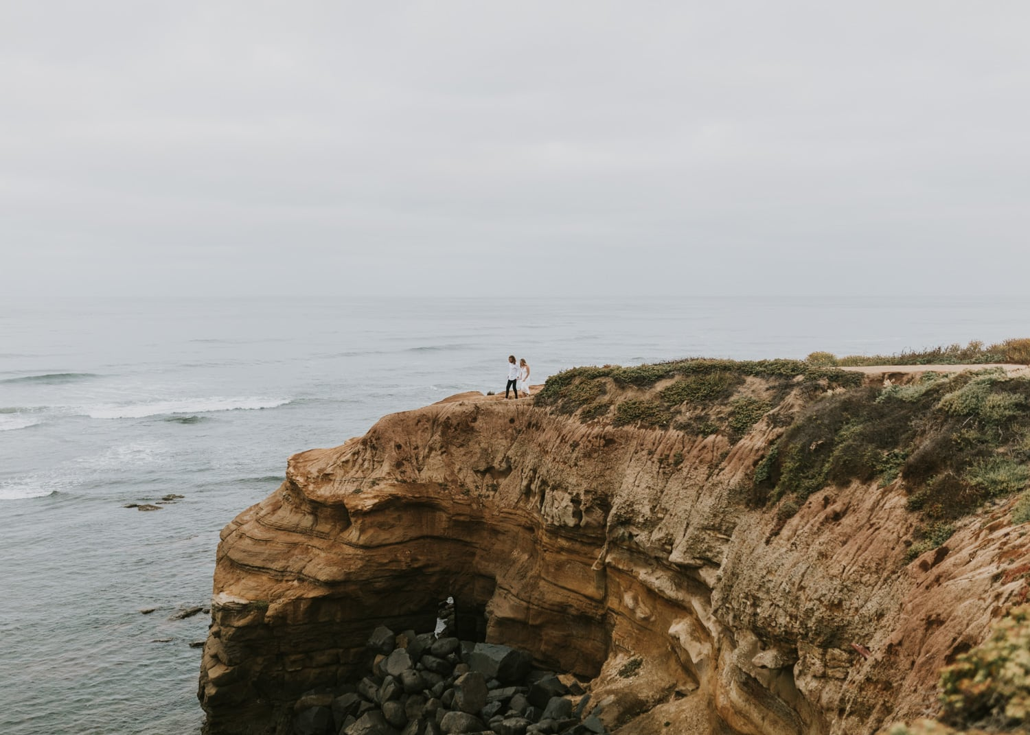 A couple eloping in California, taken by a California elopement photographer.
