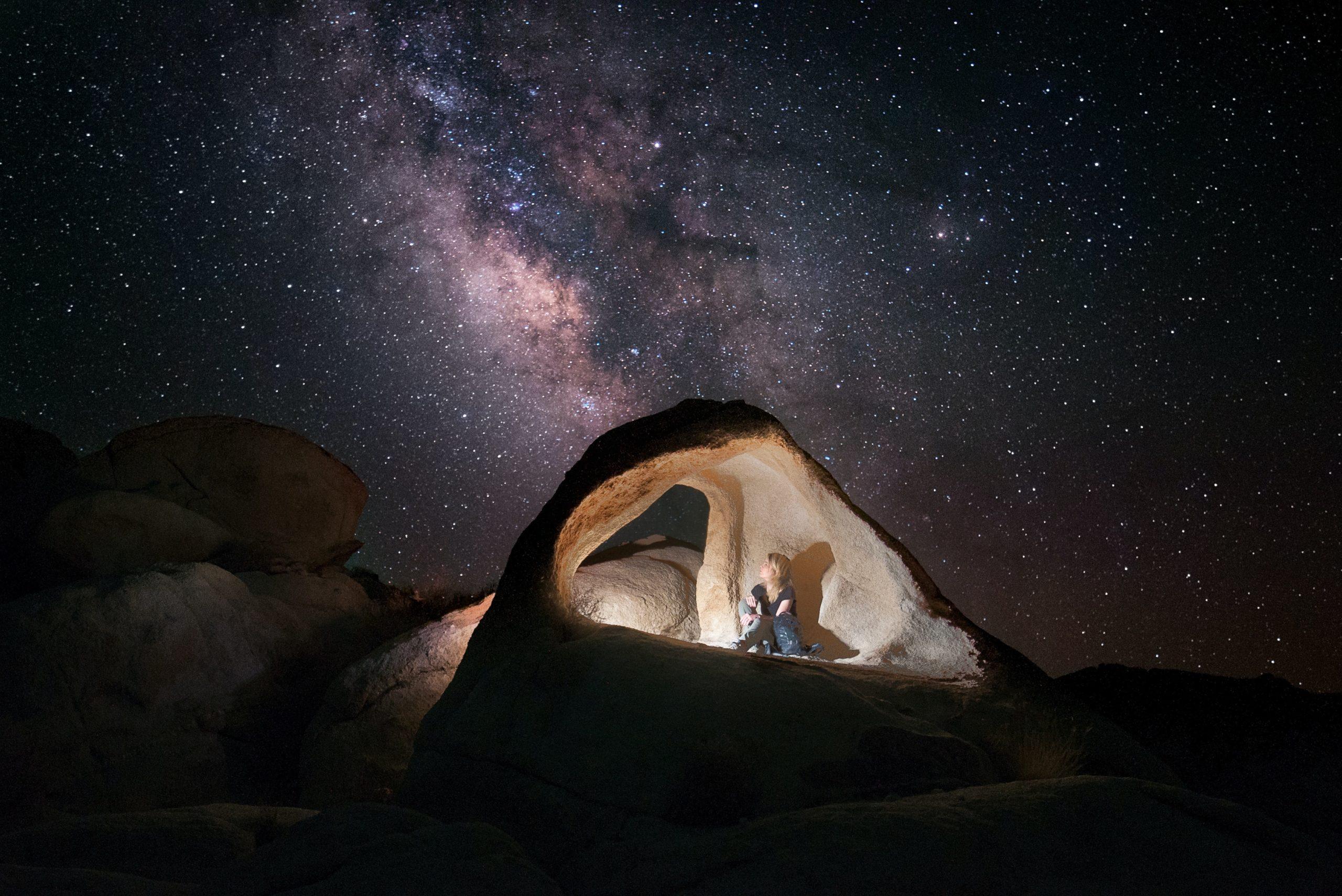 Starry night in Joshua Tree