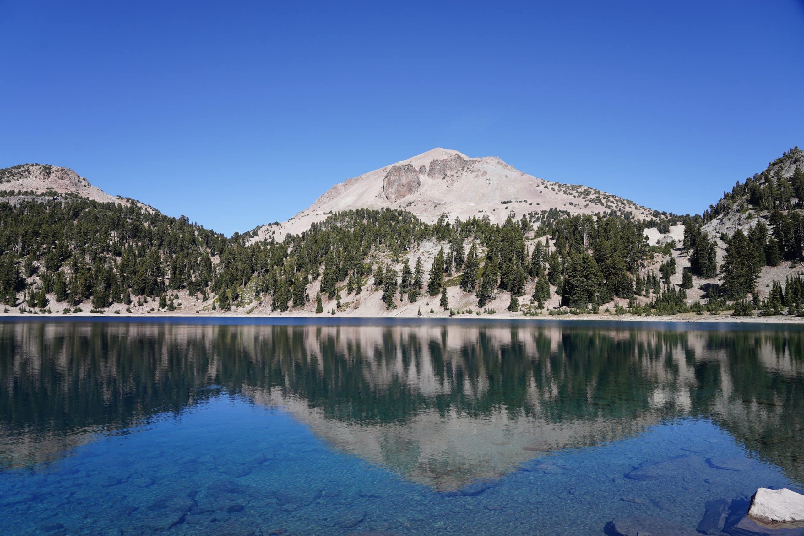 Lassen National Park in California.