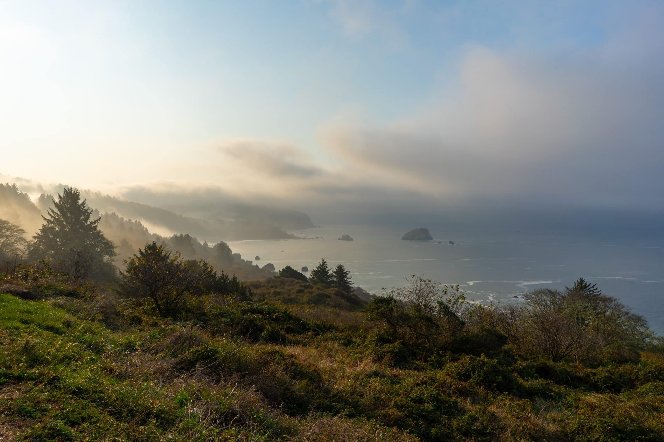 Patrick's Point in Northern California, one of the best places to elope in California.