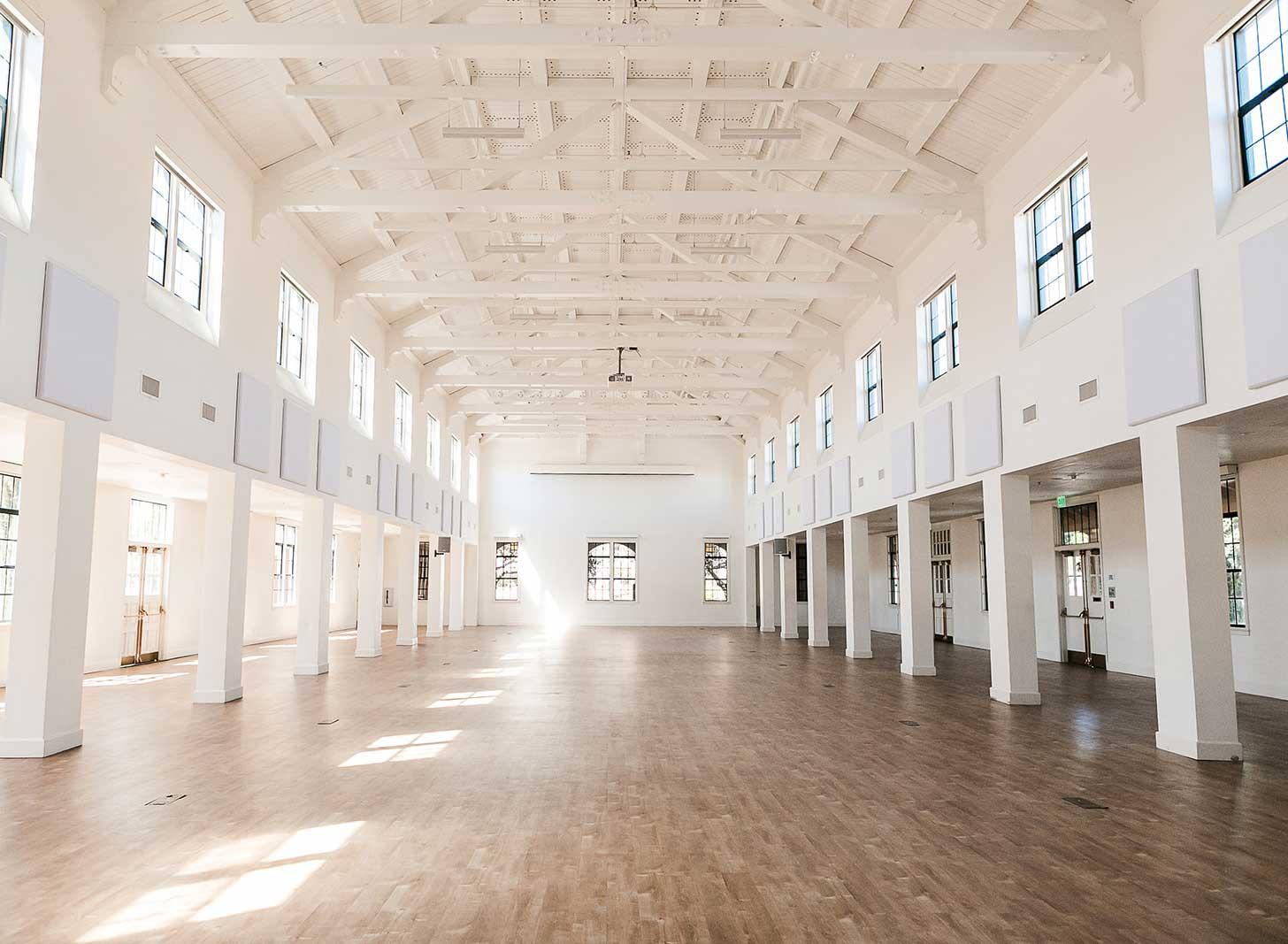Building 177, an indoor wedding venue in San Diego.