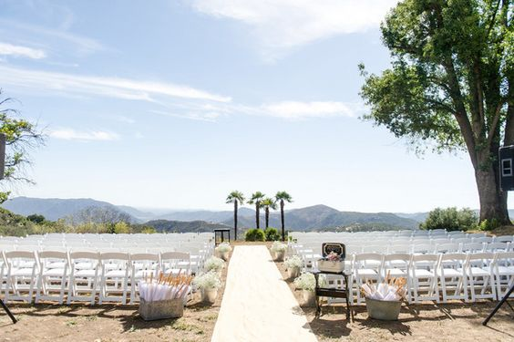 The Condors Ranch Nest, an outdoor wedding venue in San Diego.