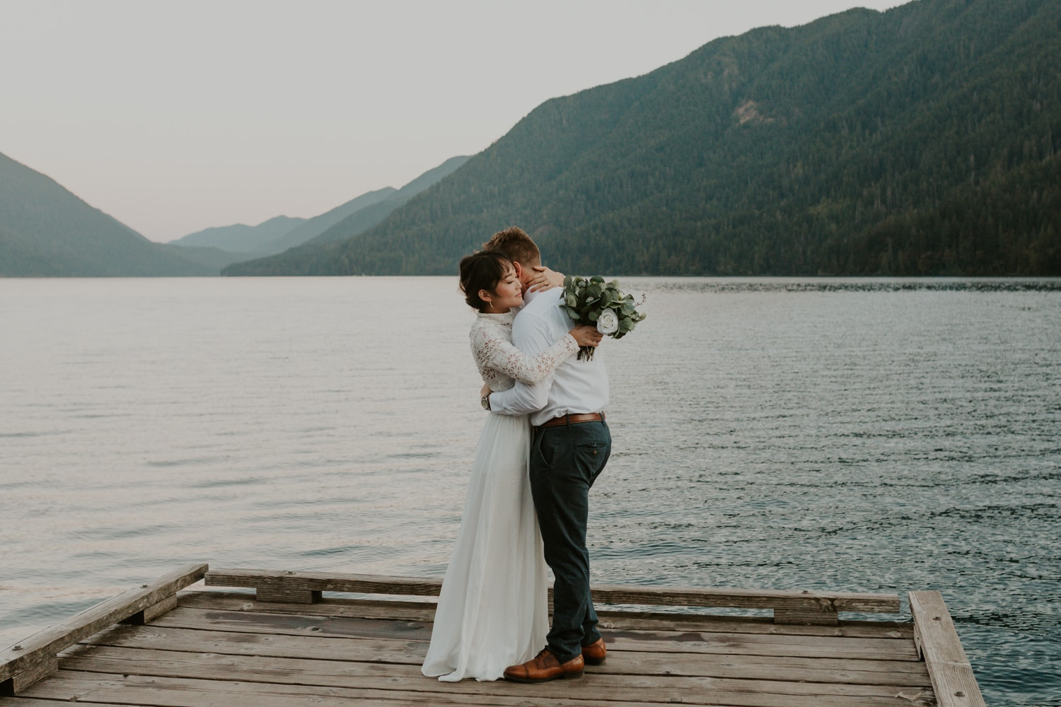 A couple eloping after booking California elopement packages from Brianna Parks Photography.
