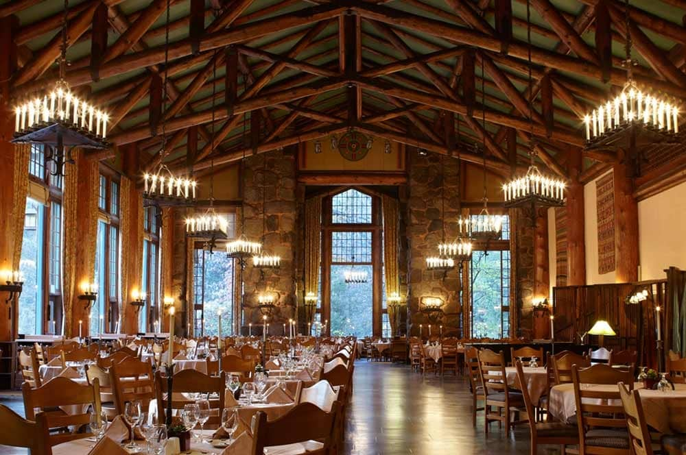The Ahwahnee Hotel, a wedding venue and hotel in Yosemite National Park.