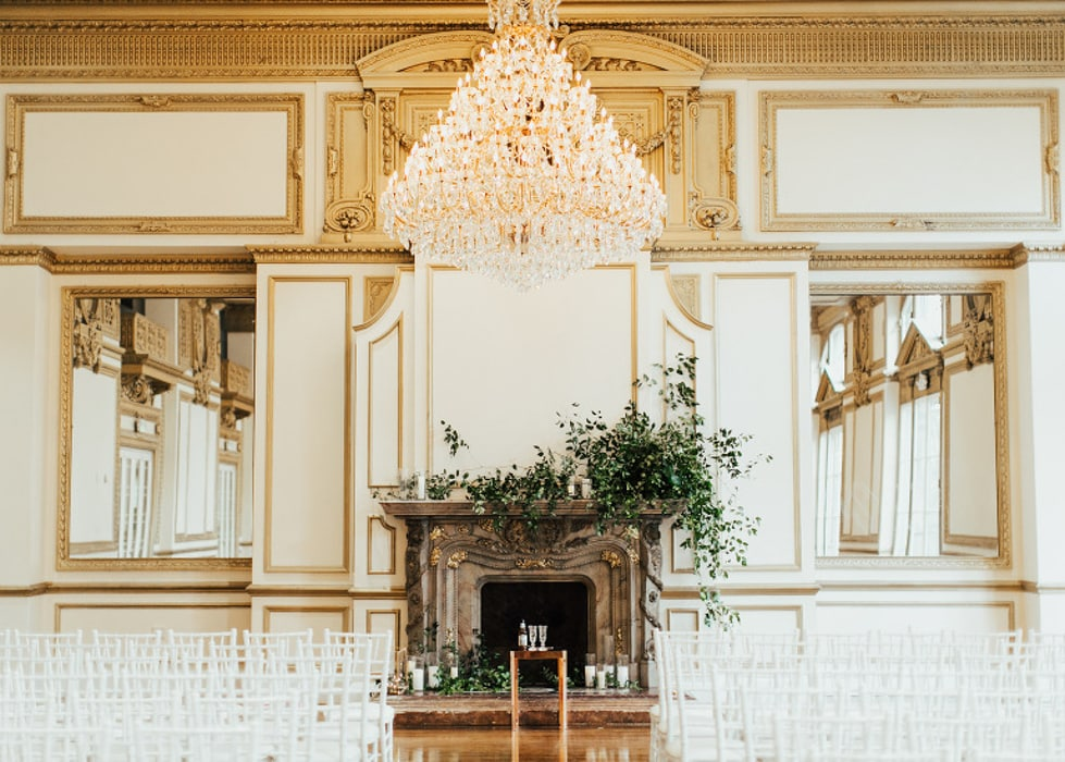 Alexandria Ballrooms, an indoor wedding venue in Los Angeles.