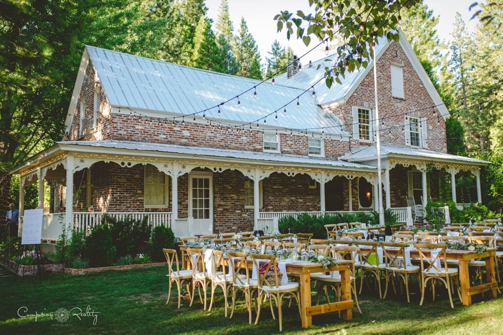 Twenty Mile House, an outdoor wedding venue in Lake Tahoe.