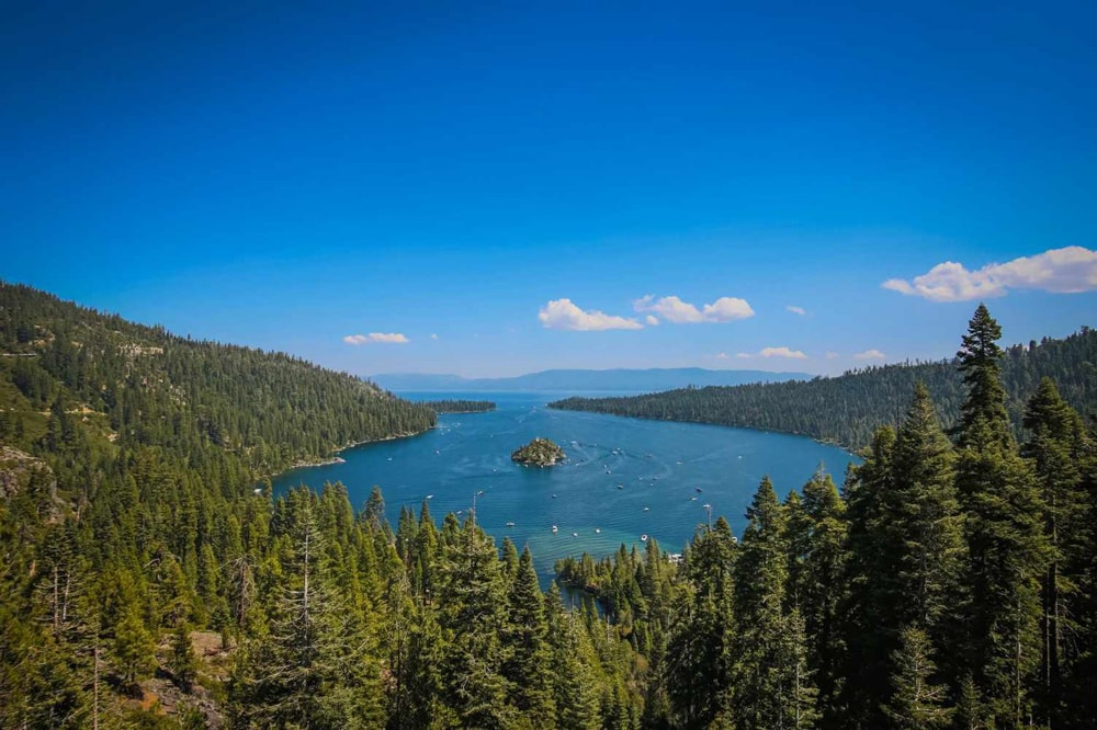 Emerald Bay State Park Lookout, a wedding venue in Lake Tahoe.