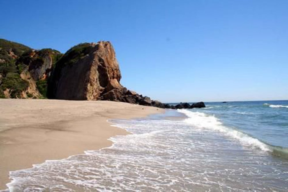 Point Dume State Beach, an outdoor wedding venue in Malibu.