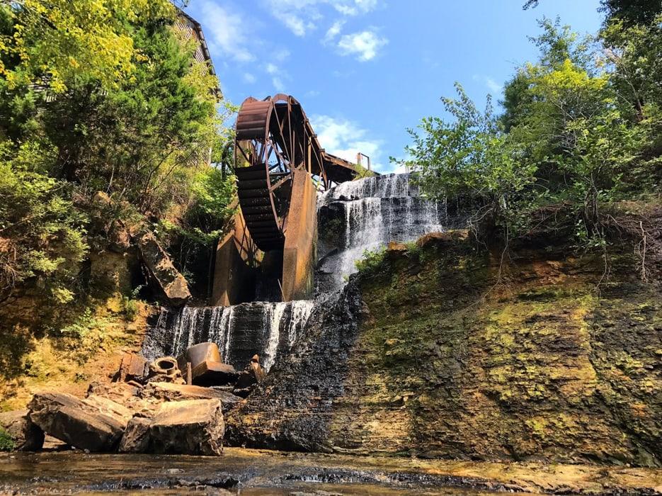 Dunns Falls in Mississippi.
