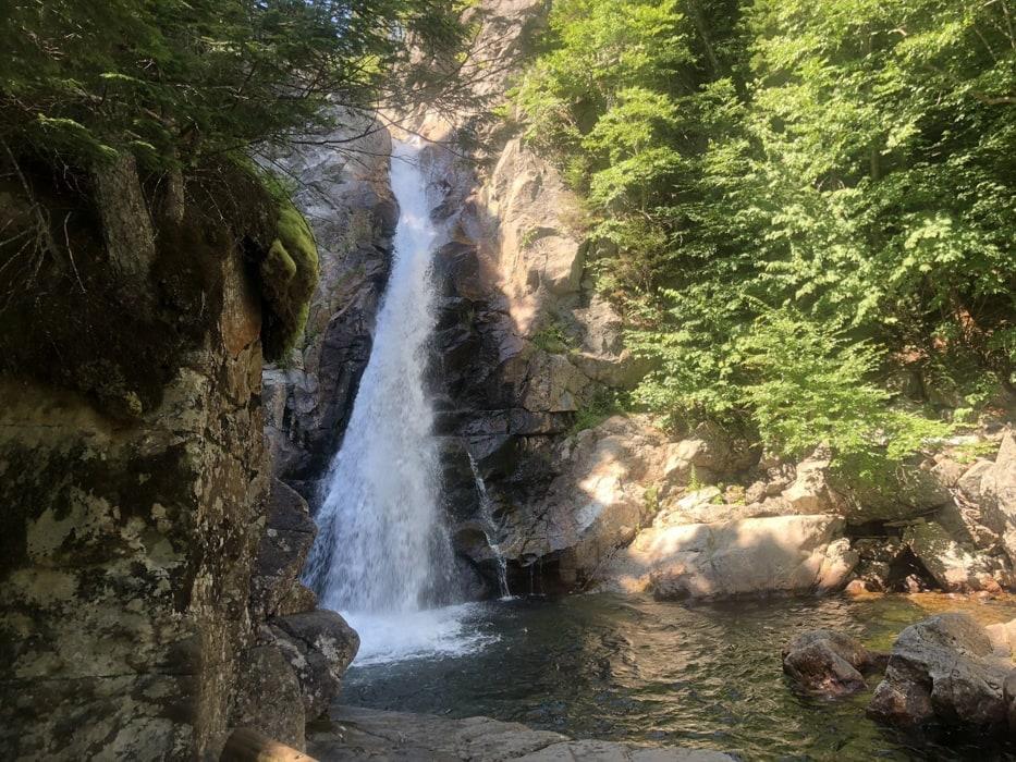 Glen Ellis Falls in New Hampshire.
