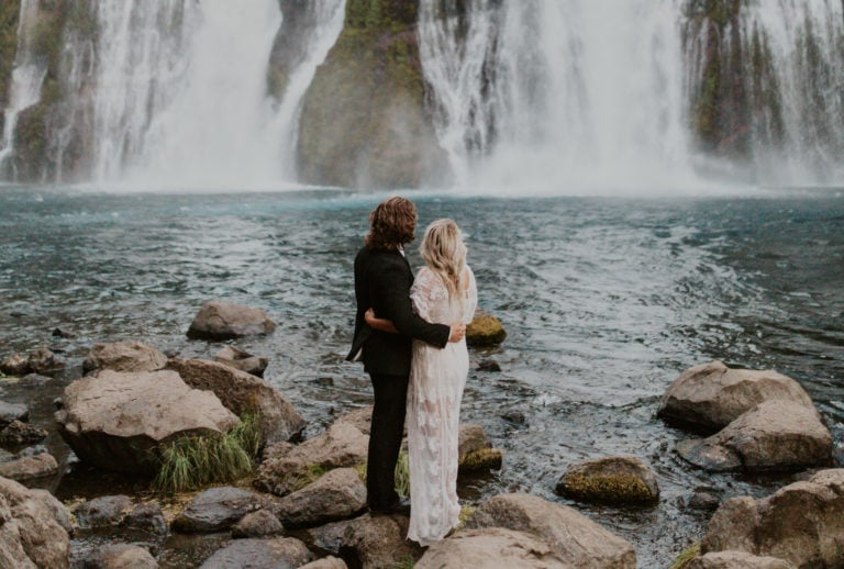 The Waterfall Wedding Guide [Waterfall Wedding Venues + Packages]