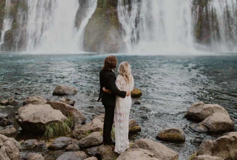 The Waterfall Wedding Guide [Waterfall Wedding Venues + Packages]