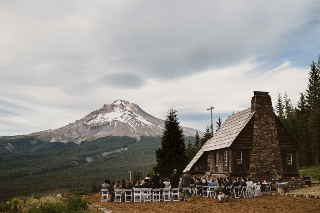 Mt. Hood Ski Bowl, a mountain wedding venue in Oregon.