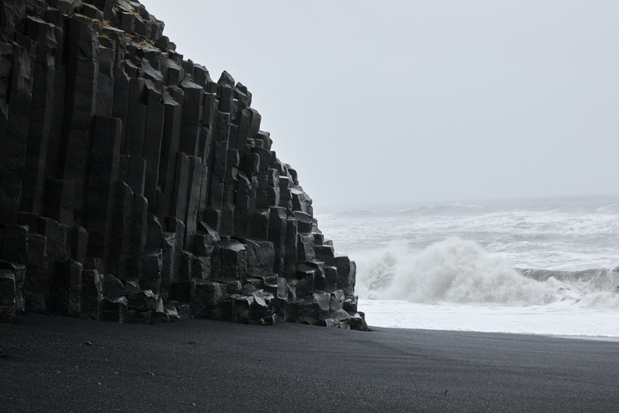 Reynisfjara Beach in Iceland.