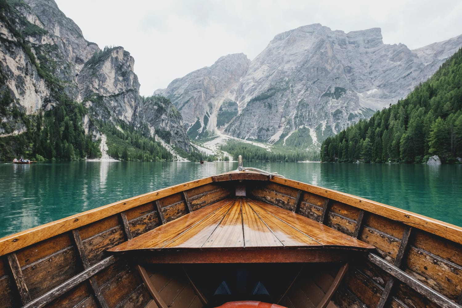 Lake Braise in Italy.