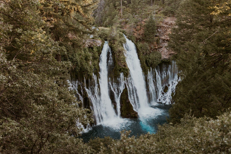 Burney Falls in Northern California