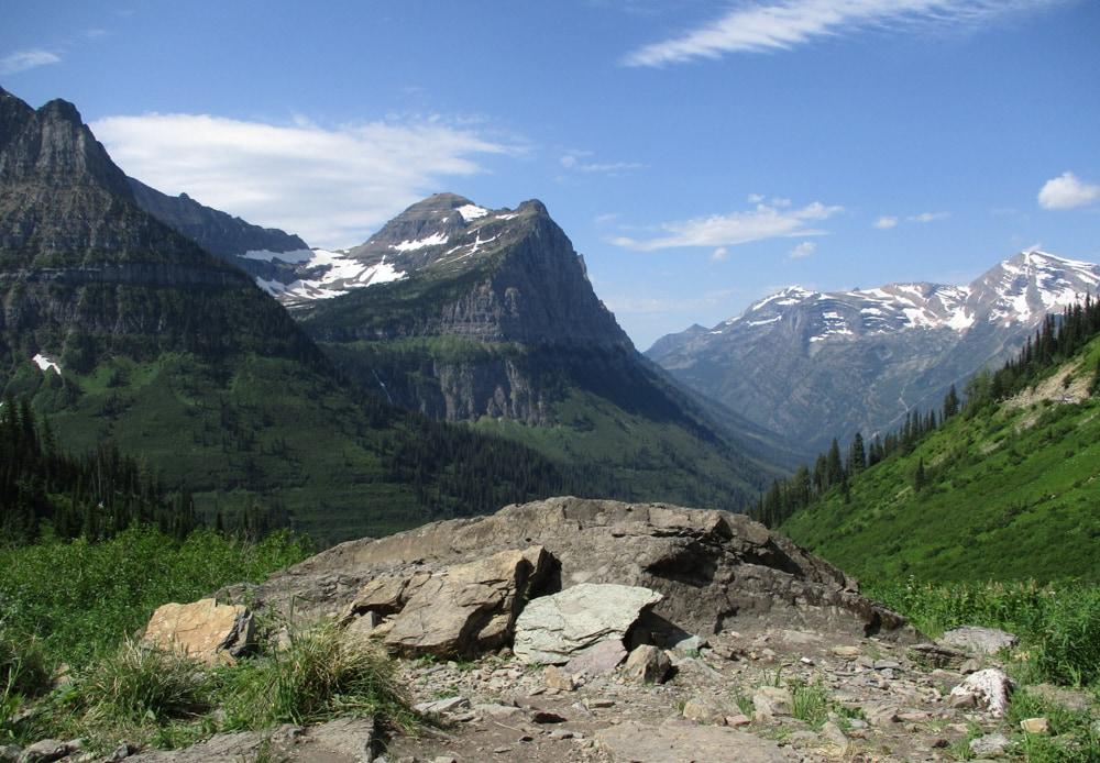 Big Bend in Glacier National Park