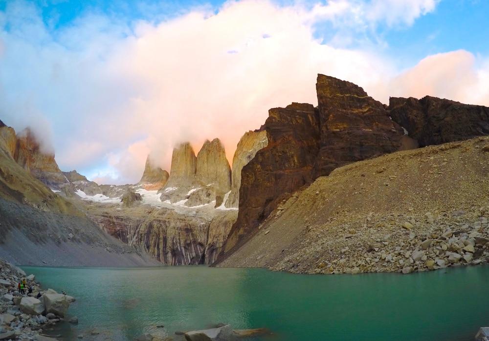 Torres del Paine in Argentina.