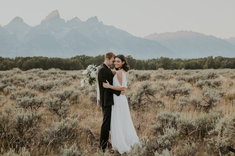 How to Plan a Grand Teton Wedding in 2021 [Packages, Places, and More]