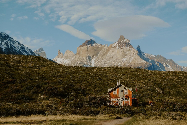 Torres del Paine in Patagonia.