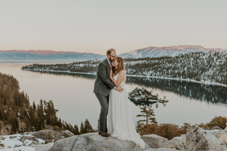 The Best Lake Tahoe Elopement Guide and Packages [Updated for 2021]