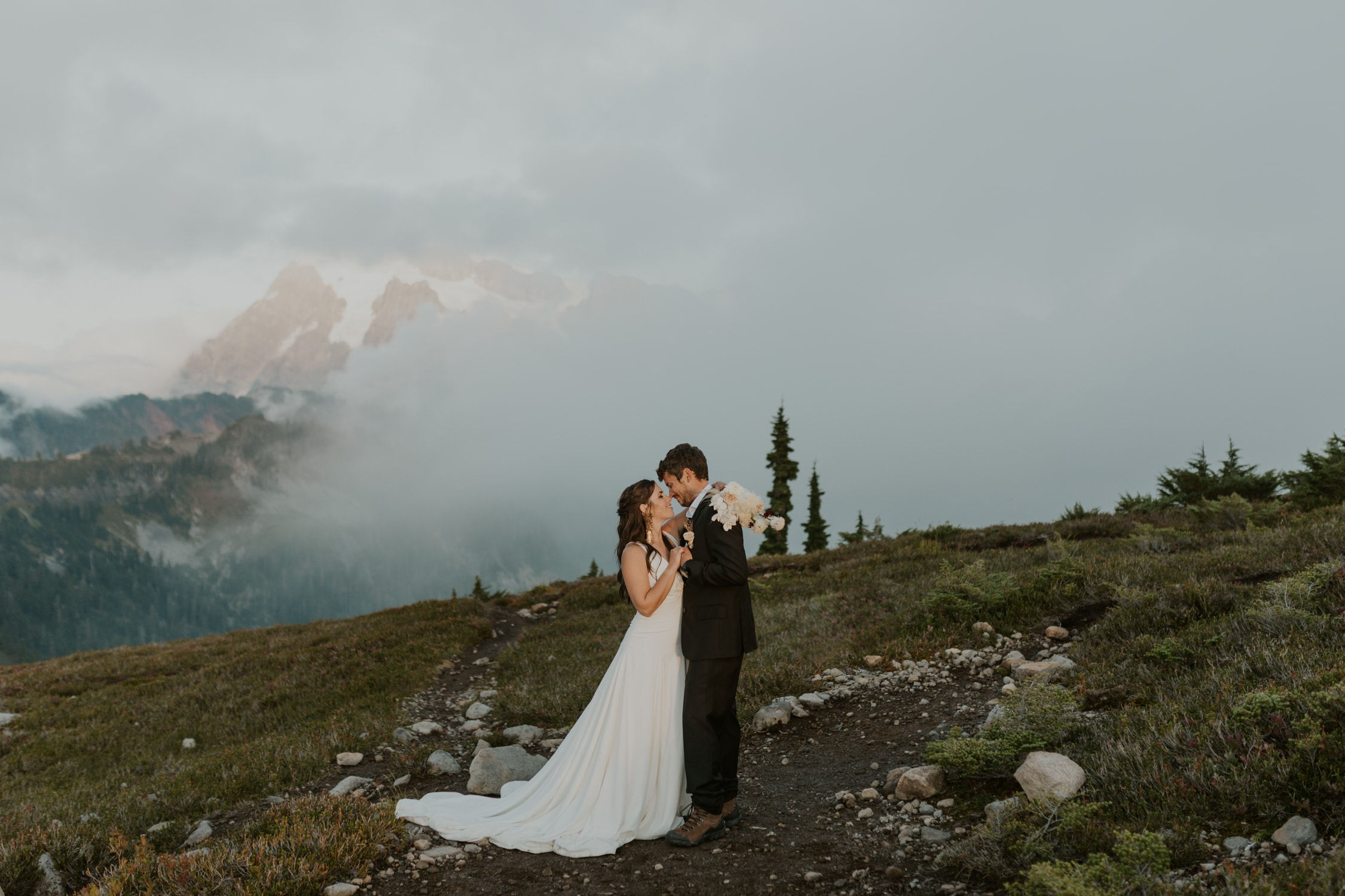 North Cascades National Park elopement.